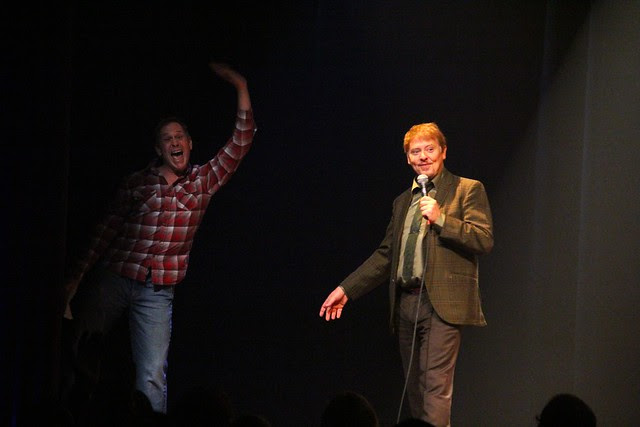 """Scott Thompson and Dave Foley in """"Two Kids One Hall"""""""