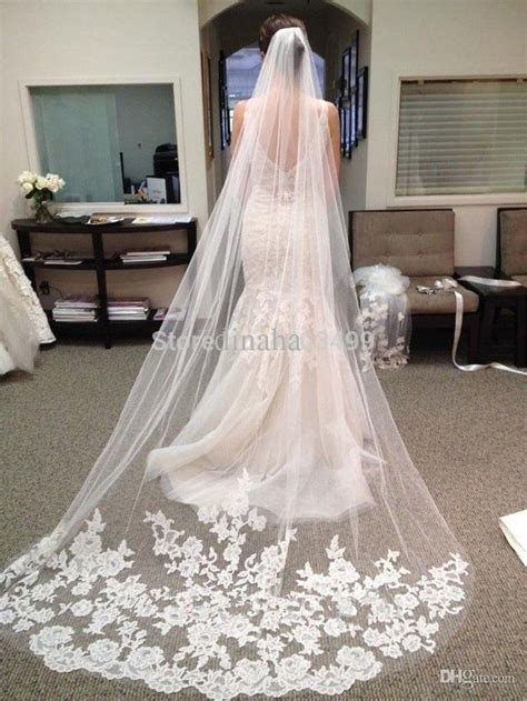 17 Best ideas about Floor Length Veil 2017 on Pinterest