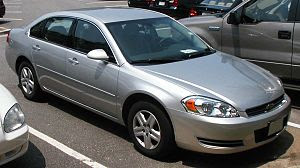 2006 Chevrolet Impala photographed in USA. Cat...