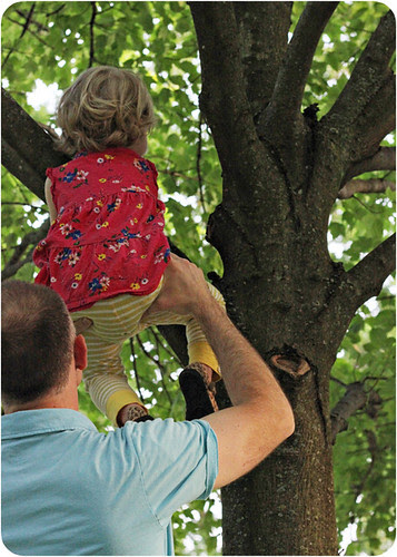 Eva and Daddy climb tree web.jpg