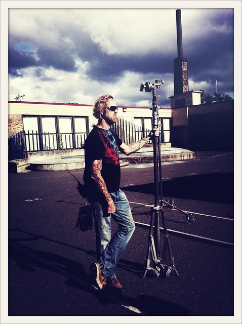 Standing Tall (Dan Misner-Best Boy Grip)  @fatkidmovie #iP