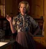 January Jones as Betty Draper in Mad Men
