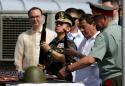 Philippines' Duterte receives Russian assault rifles