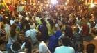 PB: avenida é ocupada por manifestantes (André Resende/G1)