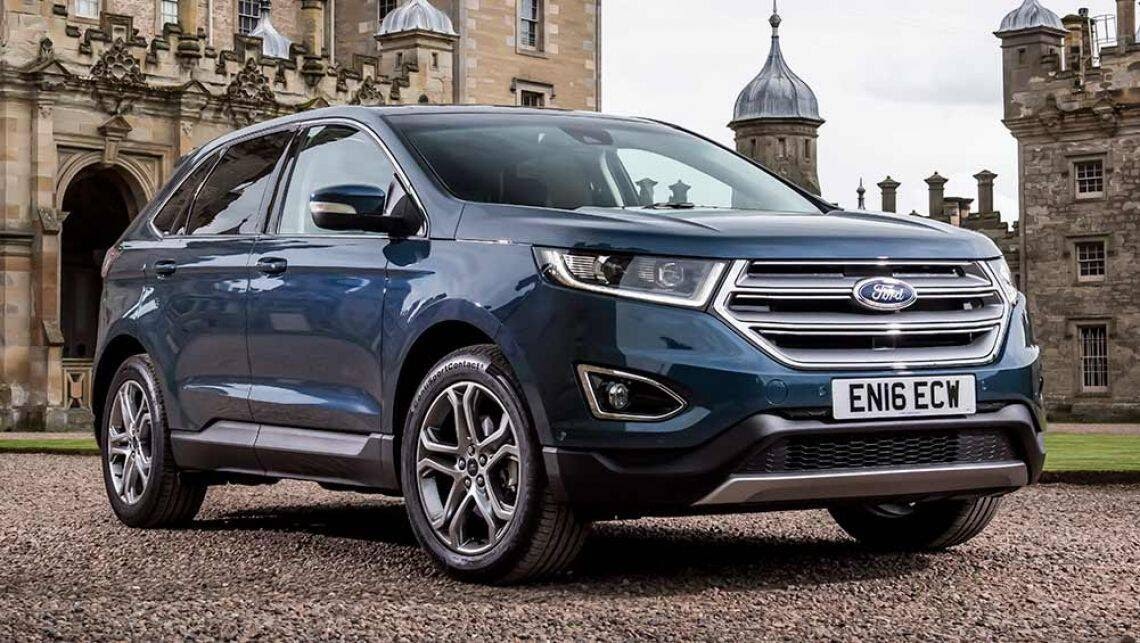 Ford Edge SUV confirmed for 2018 - Car News | CarsGuide