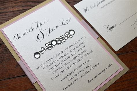 Do It Yourself Wedding Invitations Ideas