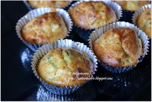muffin pancetta e zucchine