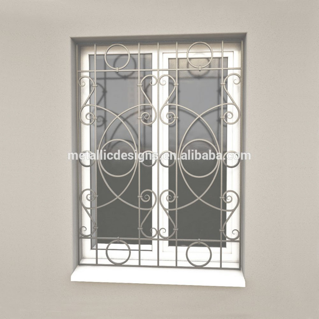 Amazing New Style Forging Iron Window Grills Design For Sliding Windows Pertaining To Window Grill Design New Ideas House Generation