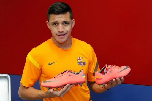 Zapato De Futbol De Alexis Sanchez