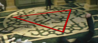triangle, pyramid Merovingian