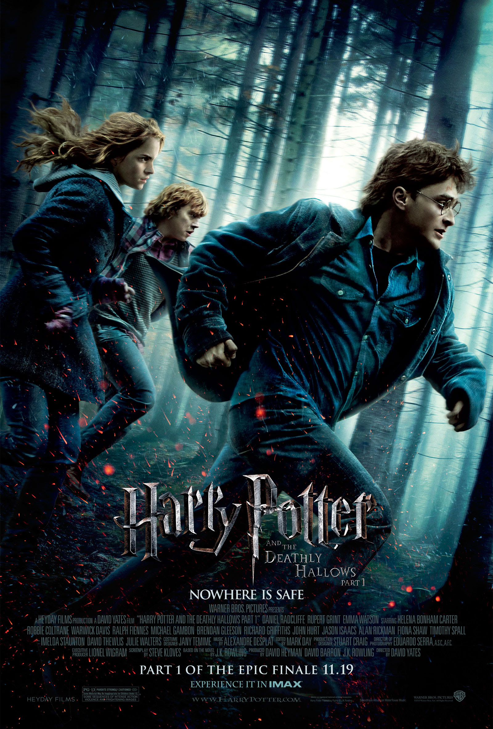 Harry Potter And The Deathly Hallows Movie Poster Desktop