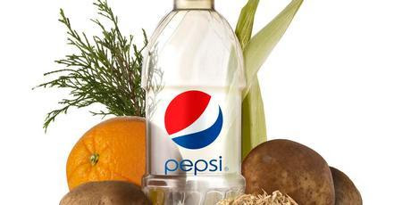 The bottle is made from switch grass, pine bark, corn husks and  other materials. Photo / AP