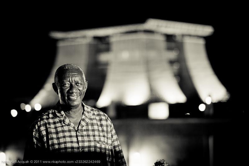 President Kufuor Portrait