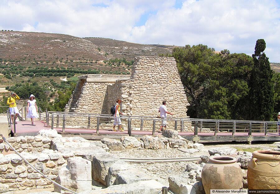 Археологический заповедник Кносс, остров Крит, Греция