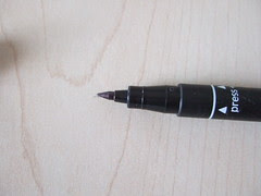 My Marking Pen and stone stamp 003