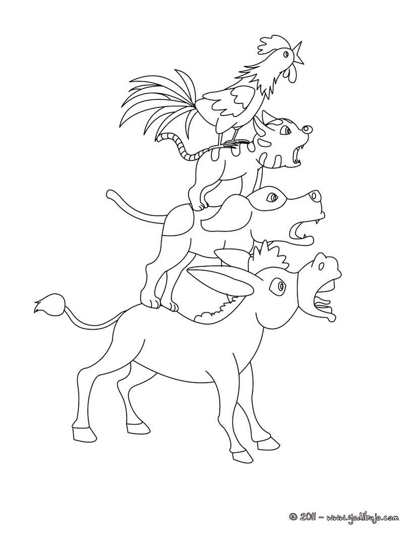 Cuentos De Los Hermanos Grimm Para Colorear 10 Dibujos De Cuentos