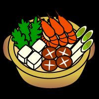 お鍋のイラストイラスト素材の素材ダス