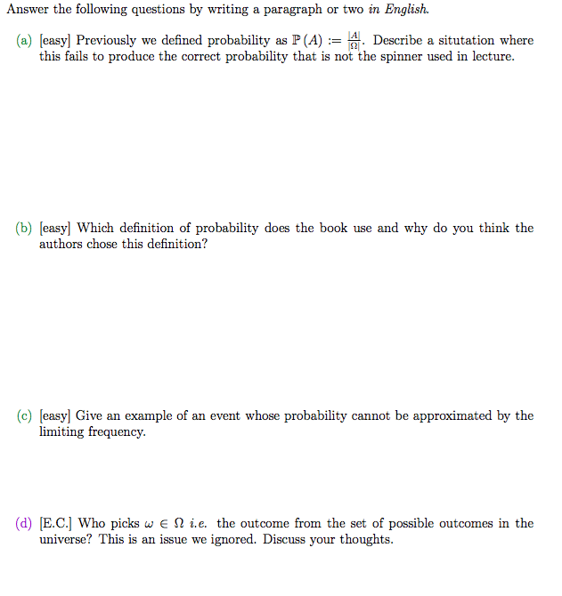 Solved: Answer The Following Questions By Writing A Paragr ...