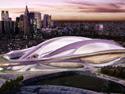 Protesta por la escala del nuevo Estadio Nacional de Japón de Zaha Hadid