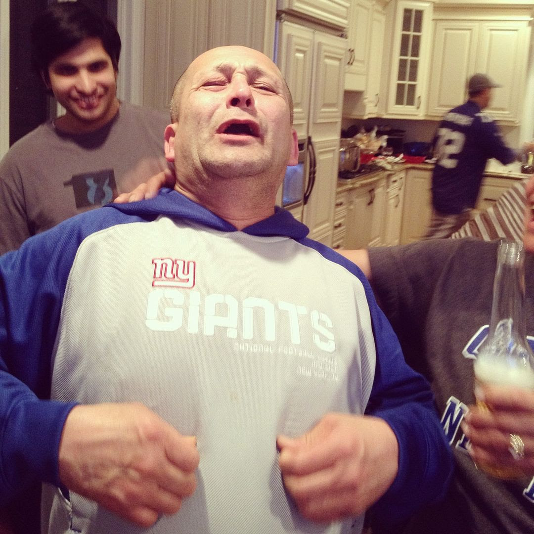 2.8.12, The Giants won the Superbowl and my father-in-law ( a hardcore fan) cried tears of joy!