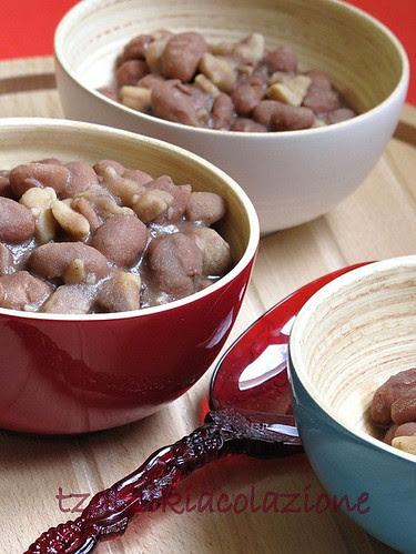 zuppa di castagne e fagioli di Lydia Capasso