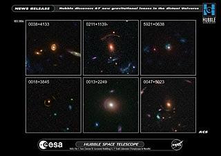 Muestra de lentes gravitacionales