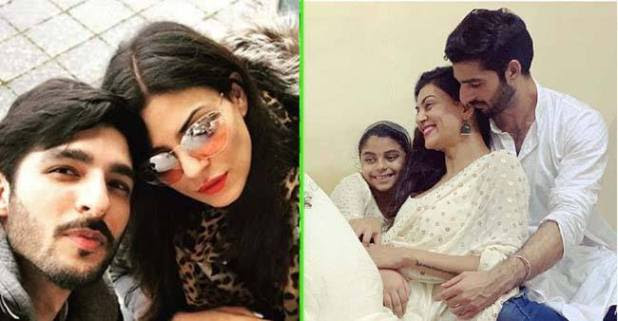 Sushmita Sen Shares an Adorable Pic with Beau Rohman Shawl on her Instagram Account