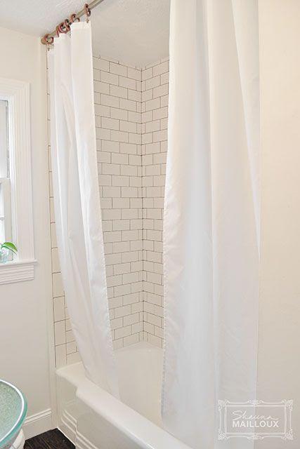 Double Shower Curtain Beautiful Matters