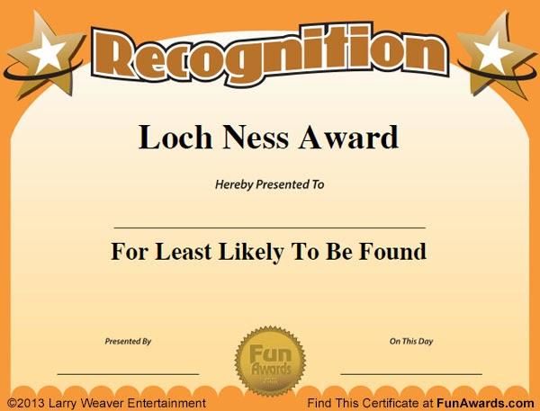 Funny Award Ideas: Office Superlatives - Most Likely ...