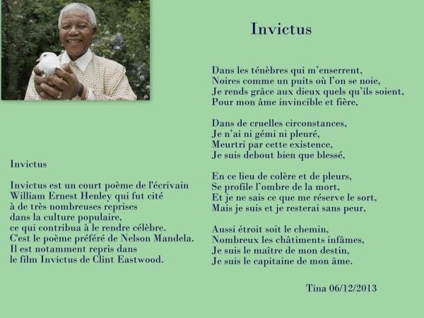 Citation Nelson Mandela Je Suis Le Capitaine De Mon Ame