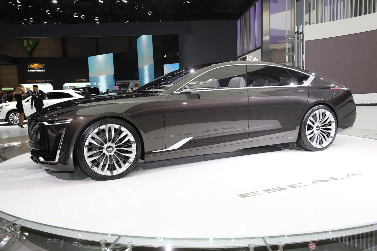 Cadillac showed off its stylish Escala Concept.