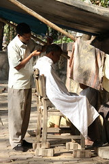 The Poor Mans Barber by firoze shakir photographerno1