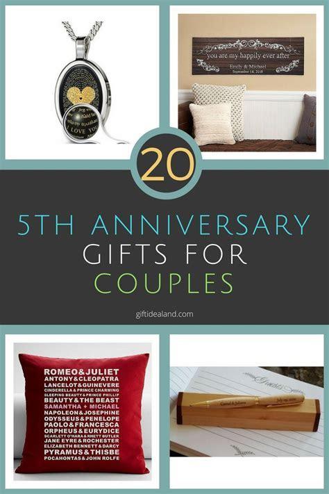 Fifth Year Wedding Anniversary Ideas