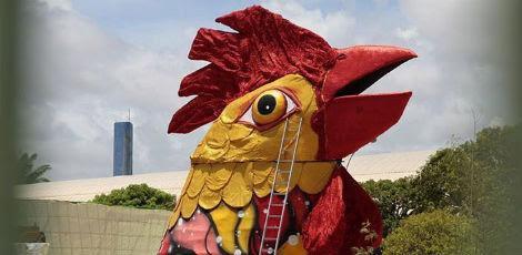 Prefeitura garante que data para a montagem da escultura está mantida / Foto: Aslley Melo/JC Imagem