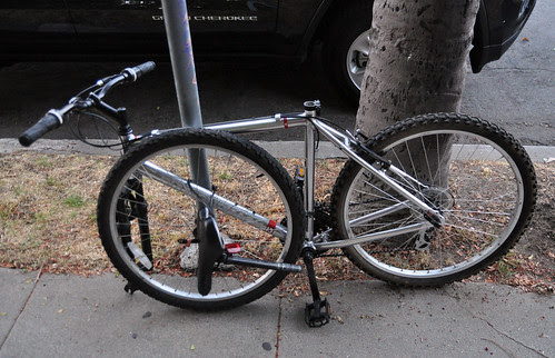 Bike parking on Bath