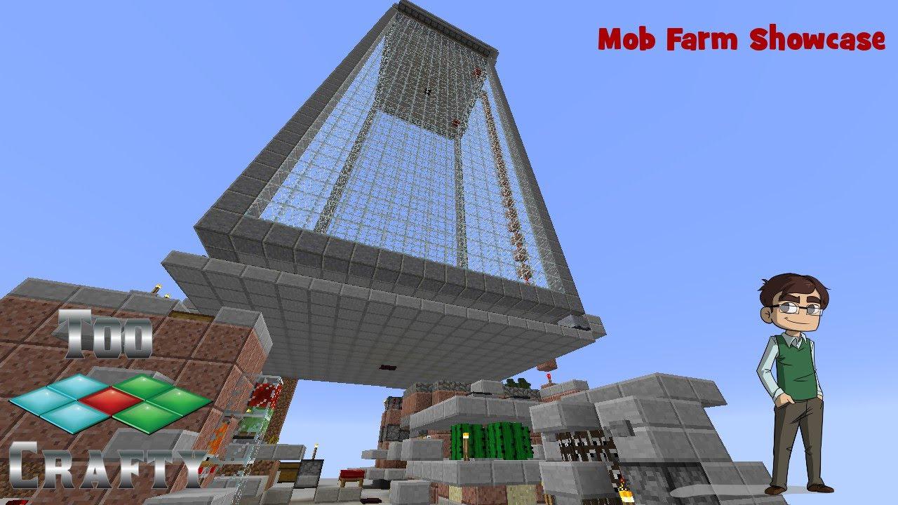 TooCrafty Minecraft SMP Episode 08: Mob Farm Showcase - YouTube