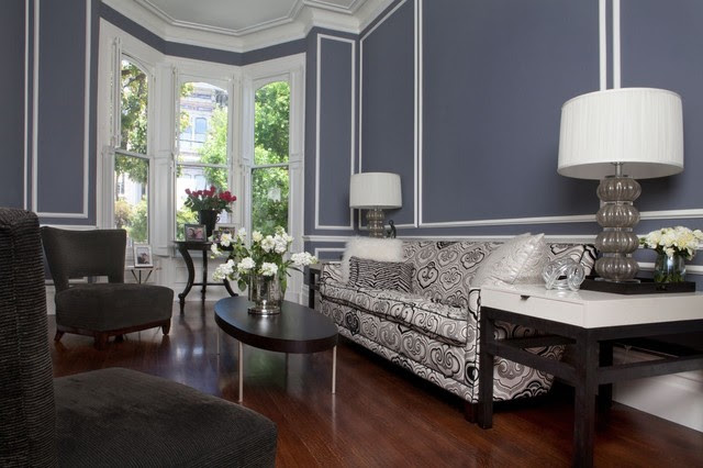 SF Victorian/Cool & Sophisticated - eclectic - living room - san ...