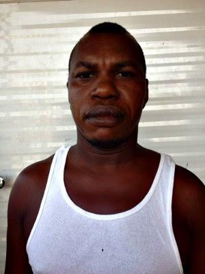 Haitiano Lyjeannot Verney (Foto: Rafael Fabres/Arquivo Pessoal)