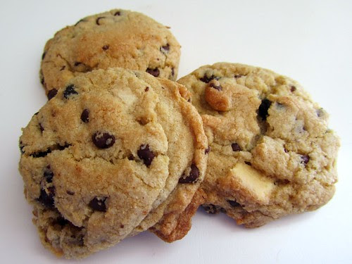 White Chocolate Raspberry Chip Cookies