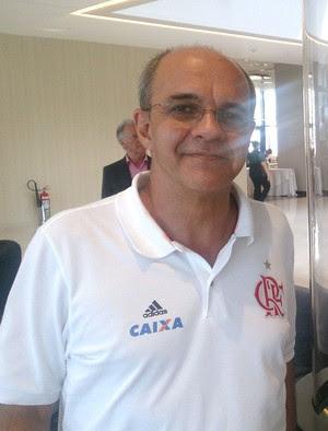 Eduardo Bandeira de Mello presidente Flamengo (Foto: Richard Souza)