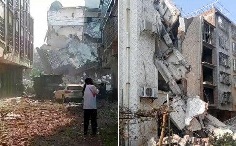 Hình ảnh Trung Quốc: Bom nổ liên tiếp tại 15 địa điểm số 1