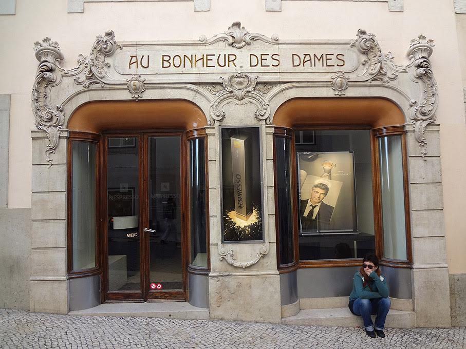 Fotografia Au Bonheur des Dames, Chiado Lisboa