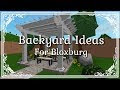 Cool Backyard Ideas Bloxburg