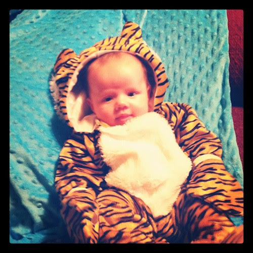 headed to bed thankful for this little tiger!
