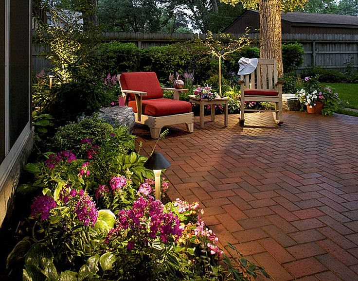 Design ideas for small backyard patios