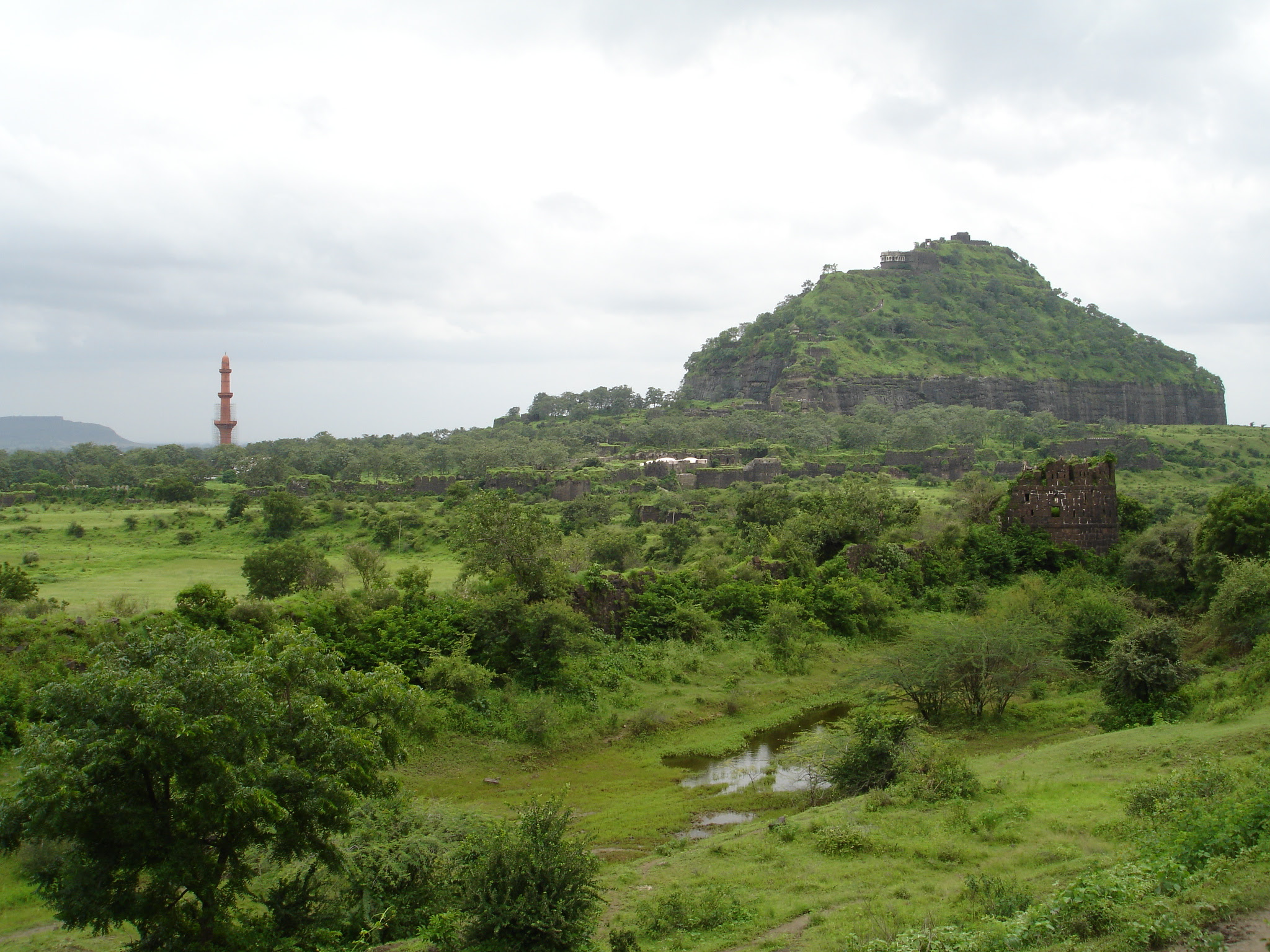 Daulatabad Fort Image Source Wikipedia