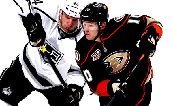 The Los Angeles Kings and Anaheim Ducks will compete against each other in Round 2 of the Stanley Cup playoffs...starting on May 3, 2014.