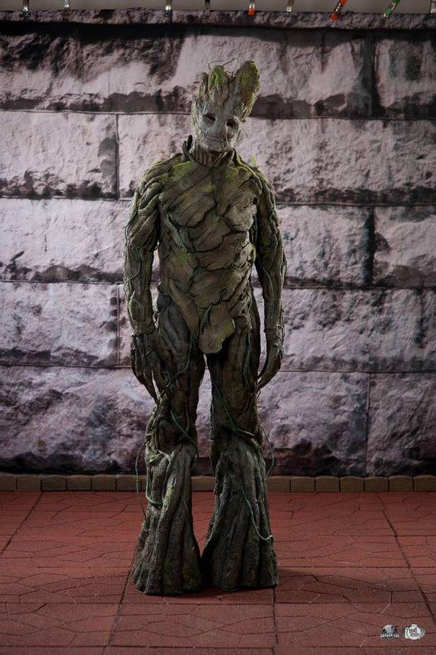 Cosplay de Groot hecho por un fan