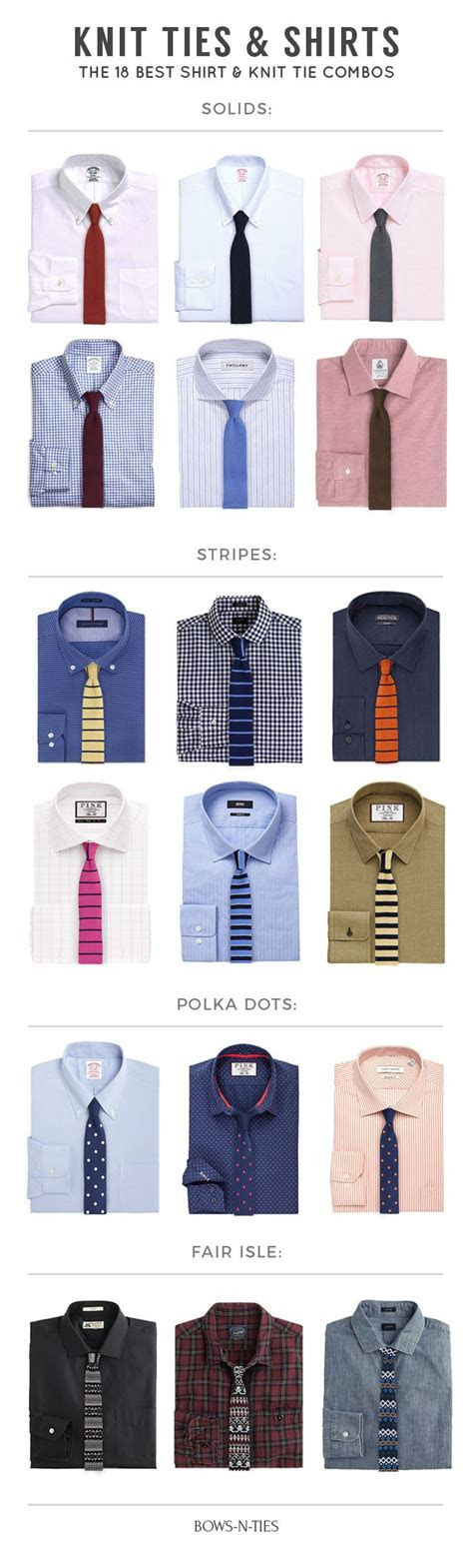 Mens style guide for the perfect tie and shirt combo