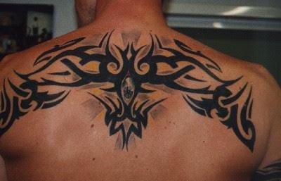 Black Tribal Tattoo On Back Tattoo Designs Tattoo Pictures